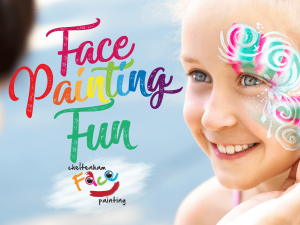Facepainting at Eastgate Shopping Centre