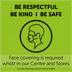 Face coverings at Eastgate