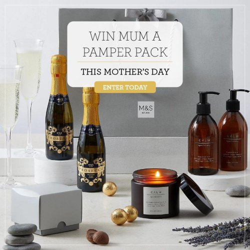 Win a Pamper Pack this Mothers day!