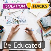 Be Educated: How to setup a school day at home